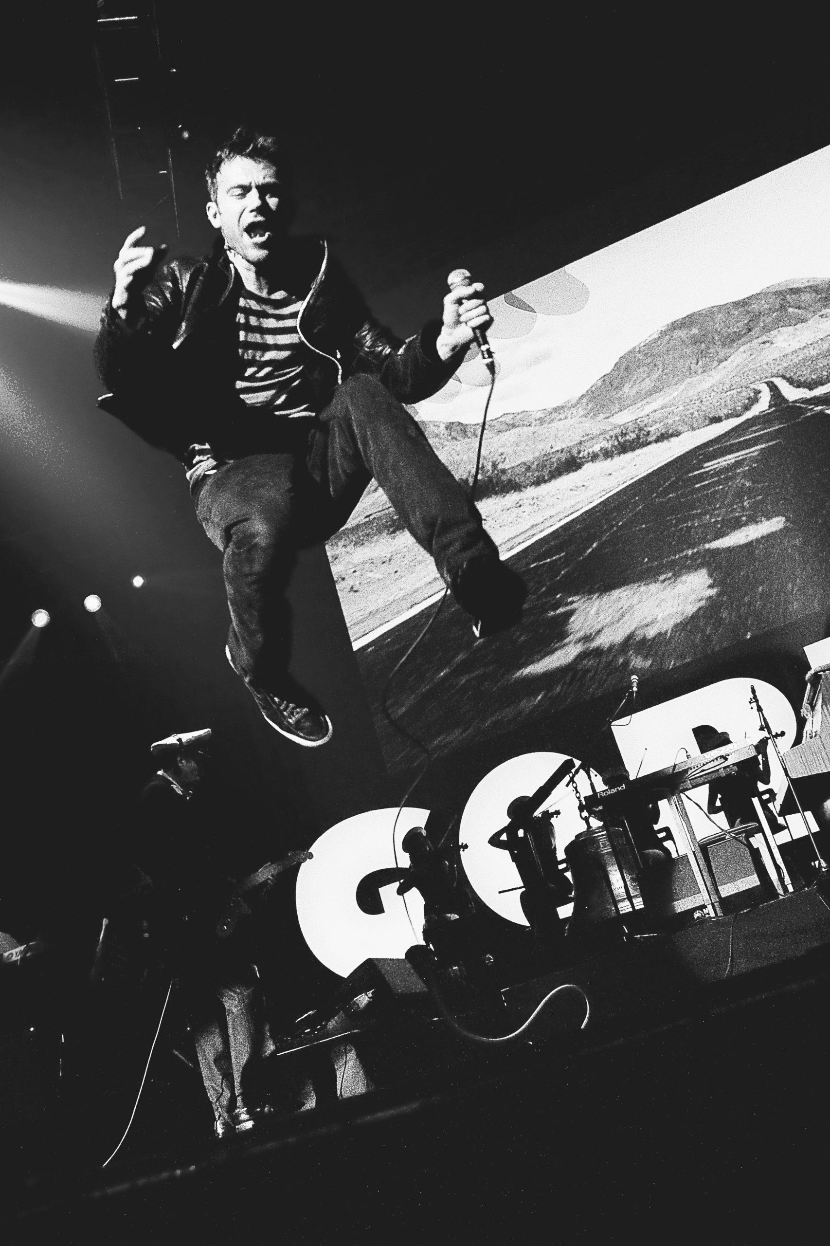 Photo Concert : Gorillaz - Zenith, Paris - 2010  | ©Rod Maurice