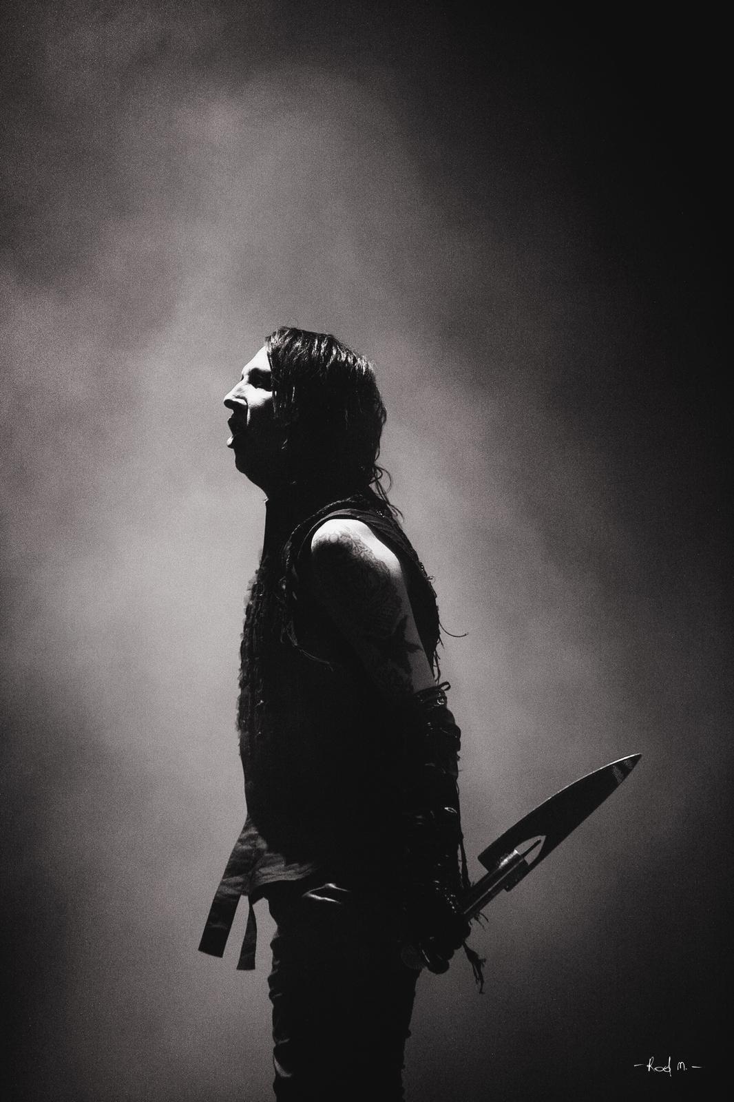 Photo Concert : Marilyn Manson - Eurockéennes, Belfort - 2007  | ©Rod Maurice
