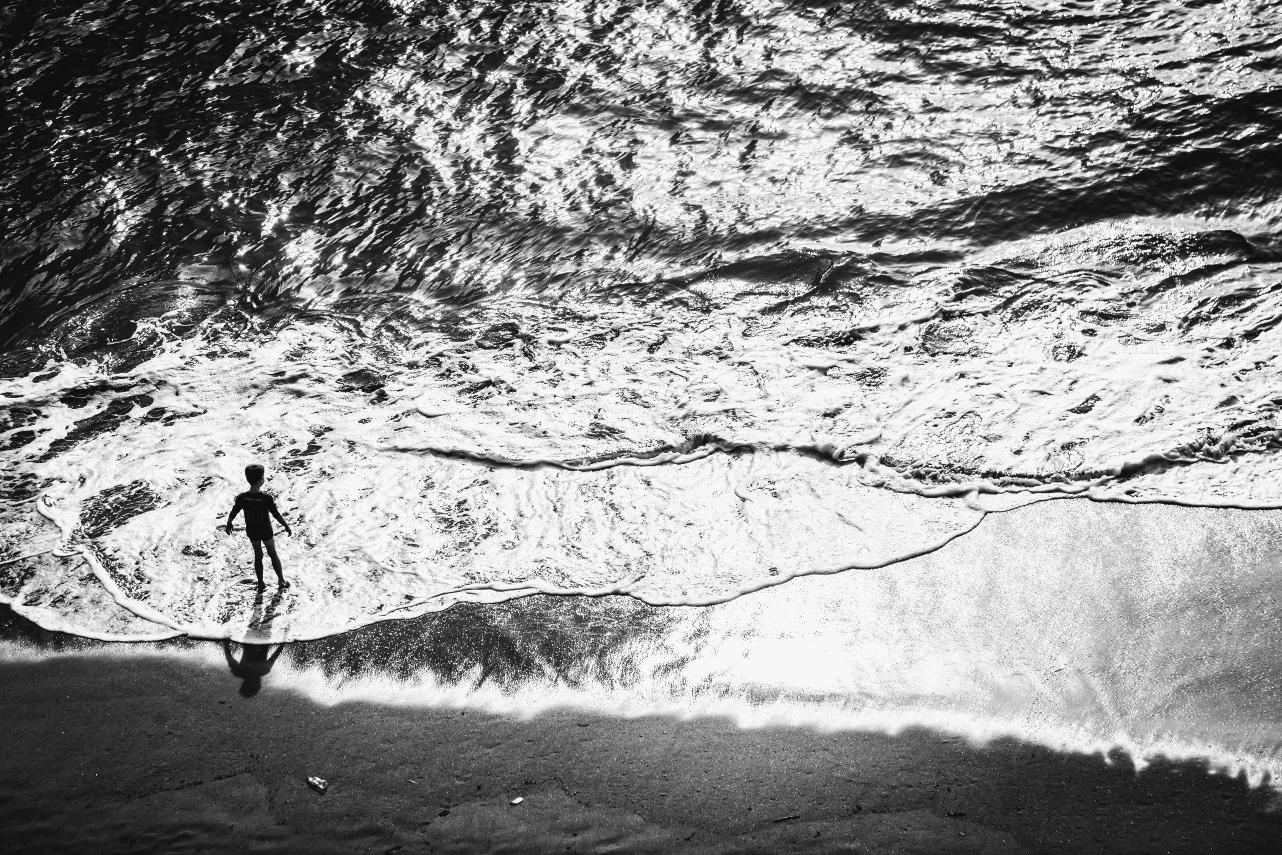 Photo bord de mer : Vers l'infini et l'au delà, Saint Malo -  2014 | ©Rod Maurice